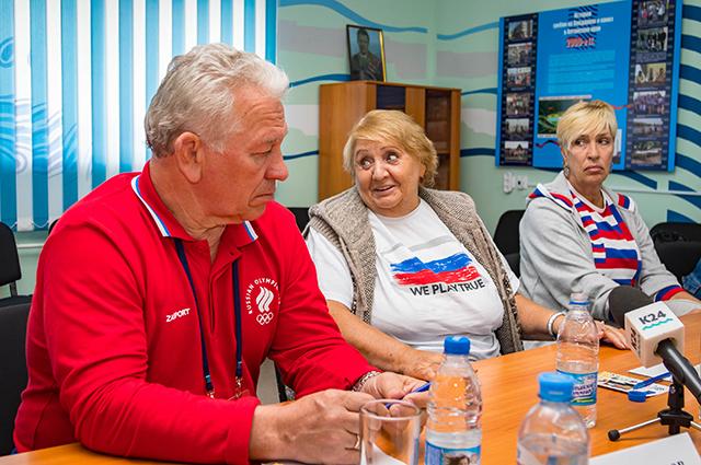 Олимпийские чемпионы в Барнауле