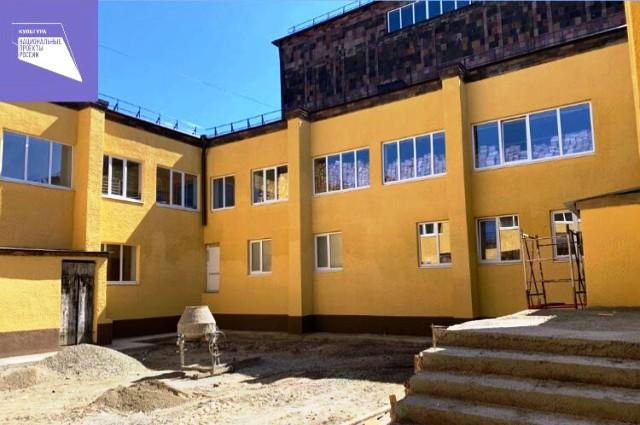 Дом культуры в посёлке Передовом совсем скоро полностью отремонтируют.