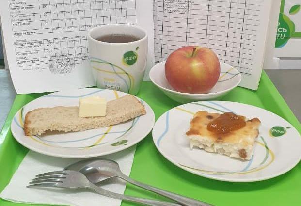 Школьное питание Уфа, меню 3 завтрак Уфа