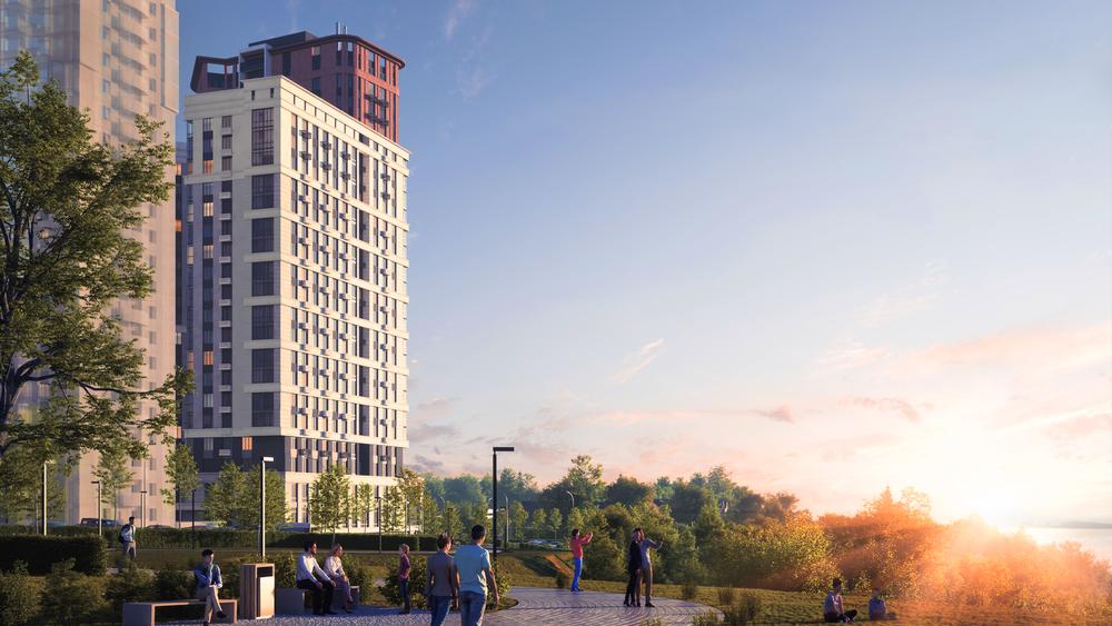 Новую набережную спроектировало архитектурное бюро Станислава Горшунова.