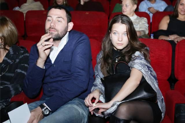Семен Слепаков с женой Кариной, 2012 год