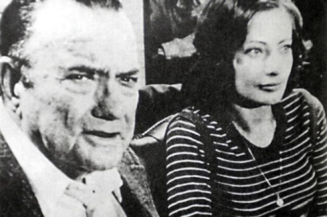 Виктория Фёдорова и Джексон Тейт во время первой совместной пресс-конференции.