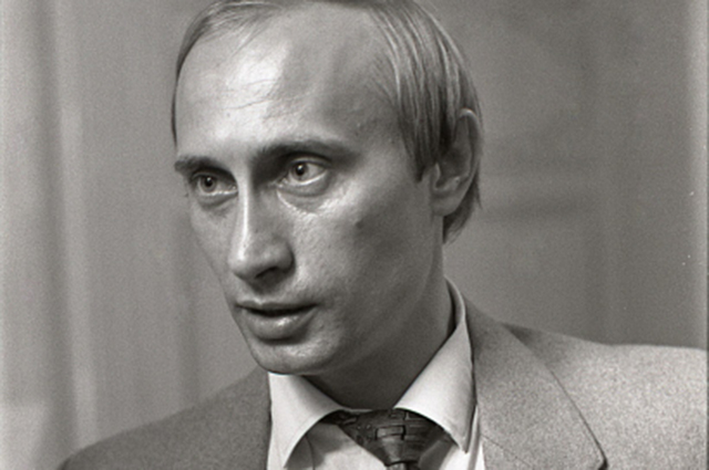 Владимир Путин, 1991 год.