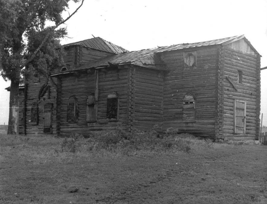 Вид храма в 1974 году.