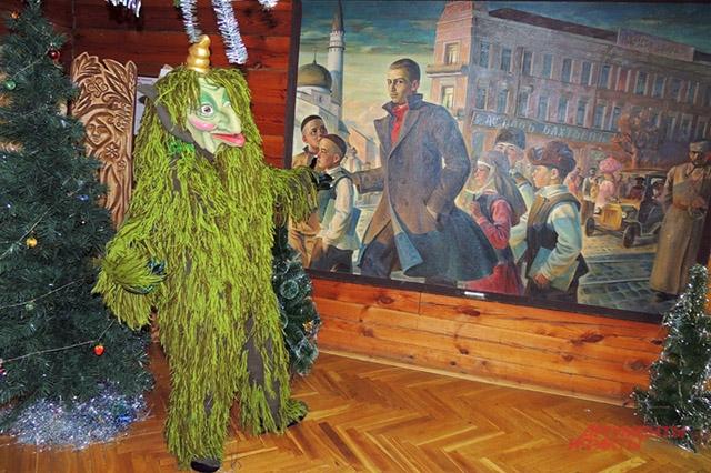 Шурале лесной дух. На картине изображён Габдулла Тукай татарский поэт