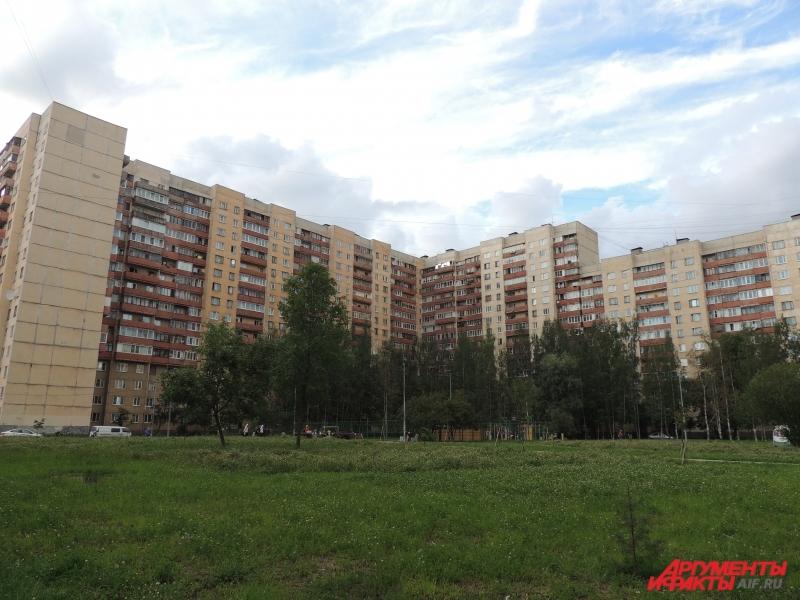 Силовики провели спецоперацию в доме на Ленинском проспекте.