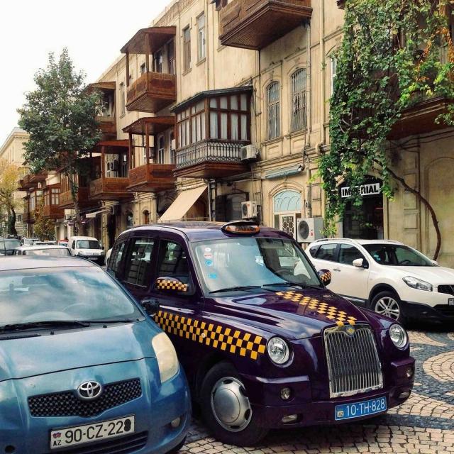 Не только Лондон может удивить туристов такси.