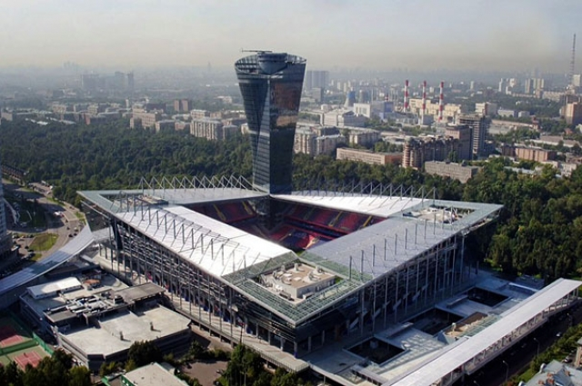 Арена футбольного клуба ЦСКА открыта два года назад.