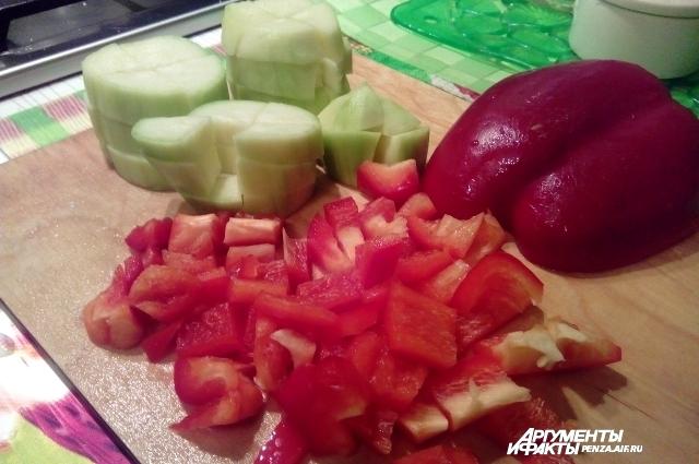 В овощах много витаминов, которые так нужны весной.