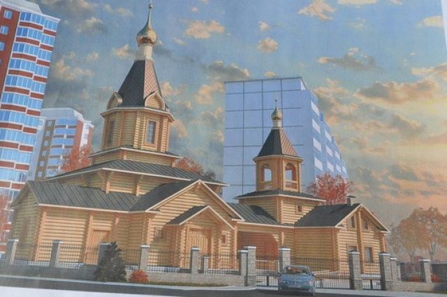 Храм Двенадцати Апостолов не севере Москвы построят сибиряки.