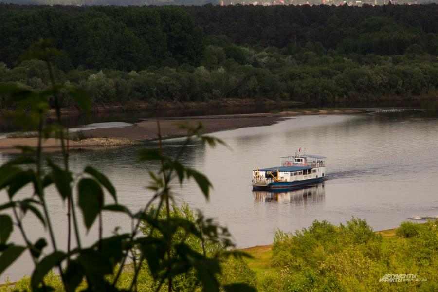 Вятка была когда-то одной из главных судоходных рек страны.