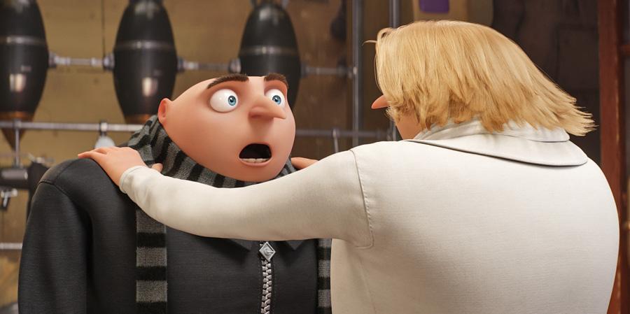 Кадр из мультфильма «Гадкий Я — 3».