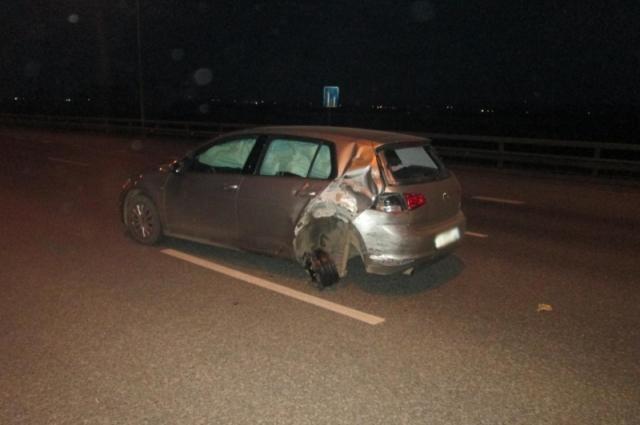 По предварительным данным, в аварии виновата водитель Volkswagen Golf.