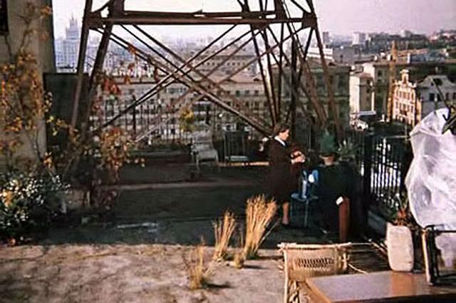 На крыше дома Нирнзее.