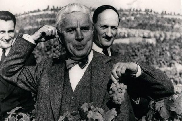 Чарли Чаплин в Швейцарии, 1953 г.
