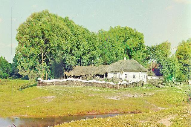 Казачьи дома строились из турлука.
