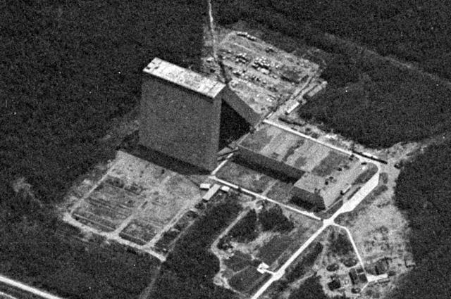 РЛС «Дунай-3М» – советская радиоло- кационная станция дальнего обнаруже- ния (ДО). Снимок сделан американским спутником-разведчиком в 1967 г.