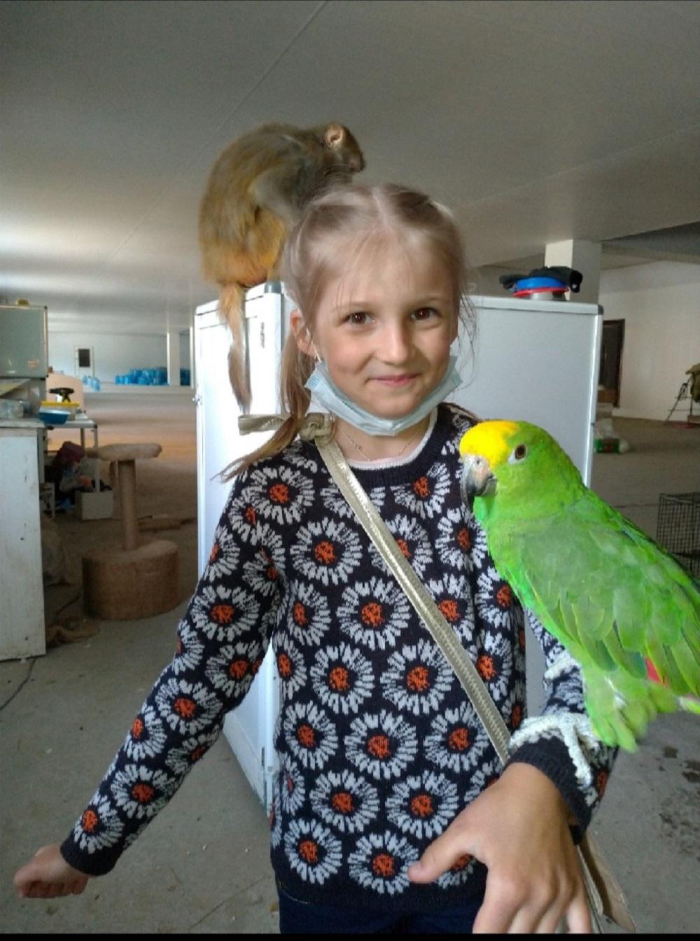 Зоопарк в Чусовом. Соня