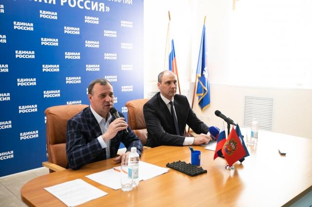 Денис Паслер и Олег Димов: