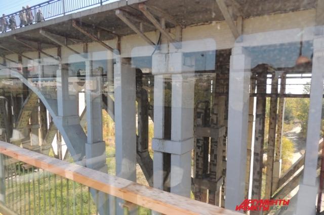 Эстакада подземной станции Пионерская