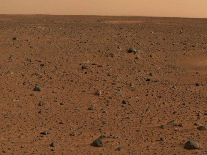 На Марсе много камней, похожих на различные предметы