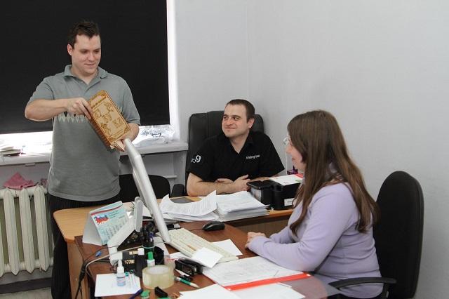 Дмитрий Козлов, руководитель типографии