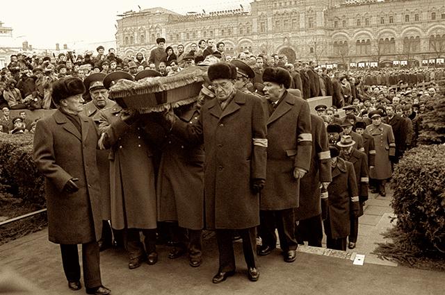 Похороны Леонида Брежнева, 10 ноября 1982 г