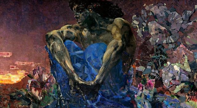 К «демоническому» Врубель обратился благодаря проекту братьев Кушнерёвых и художника Петра Кончаловского.