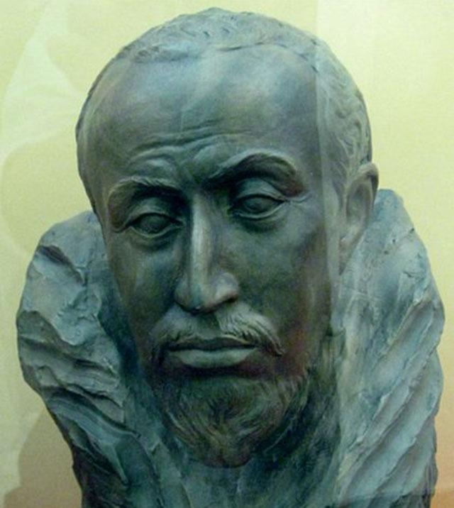 Реконструированный образ царя Фёдора Иоанновича.