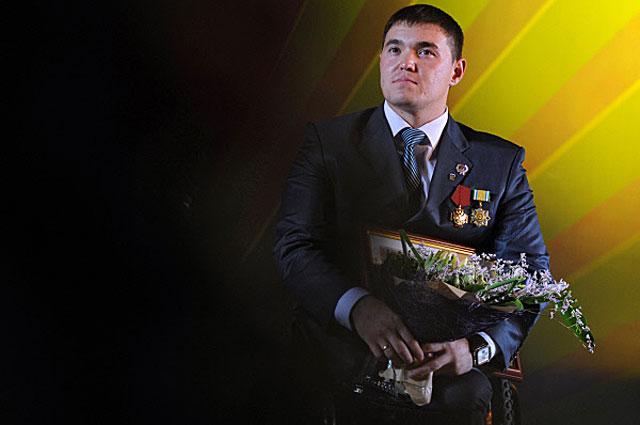 Ирек Зарипов на шестой церемонии вручения Национальной премии общественного признания достижений граждан Российской Федерации Россиянин года