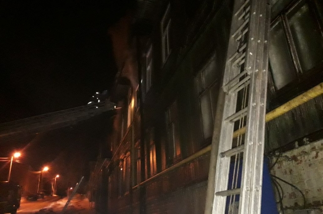 Пожар в Иванаево