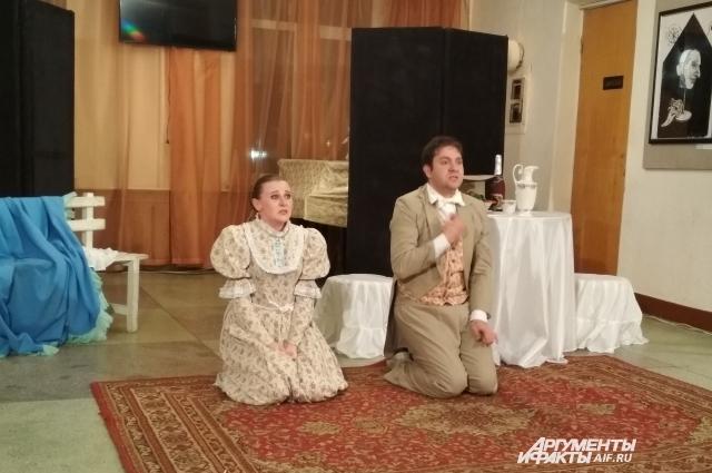 Театрализованная миниатюра в исполнении актеров