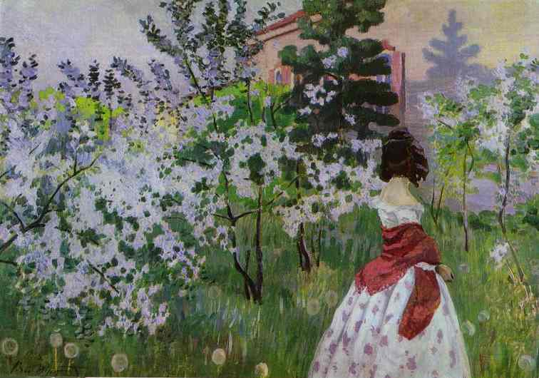 Виктор Борисов-Мусатов. Картина Весна