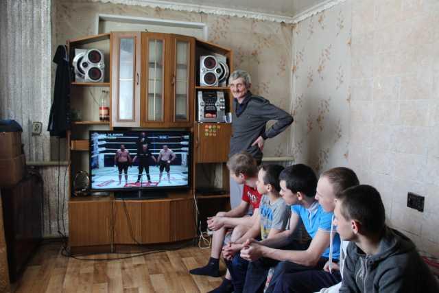 Игорь Мотыгин и его семья