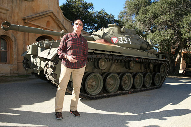 Личный танк Арнольда– M47 Patton II.