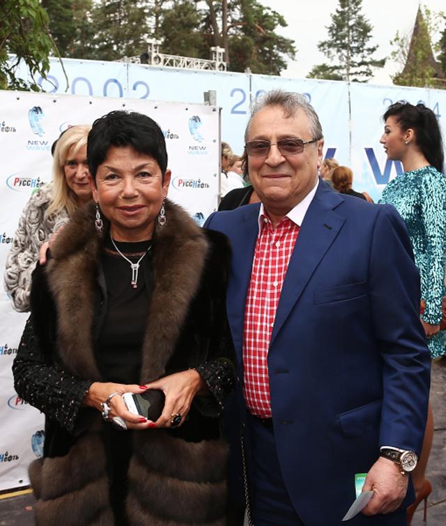 Геннадий Хазанов с супругой Златой.
