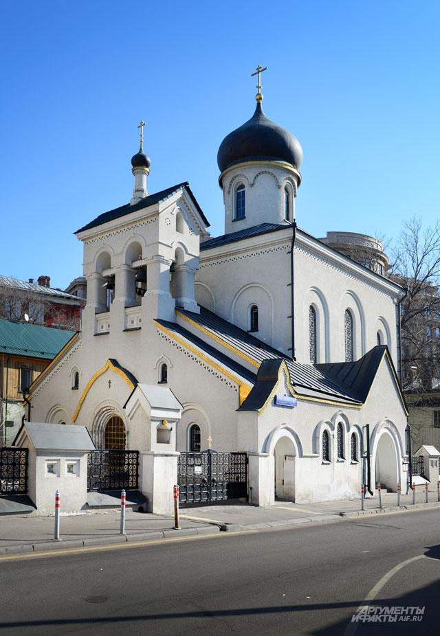 Храм Остоженской общины старообрядцев в Турчанинове пер.
