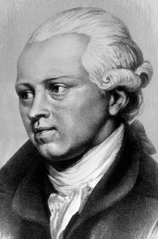 Репродукция портрета Дениса Ивановича Фонвизина работы художника Завьялова.