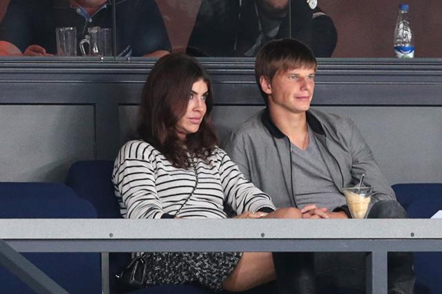 Андрей Аршавин и Алиса Казьмина.