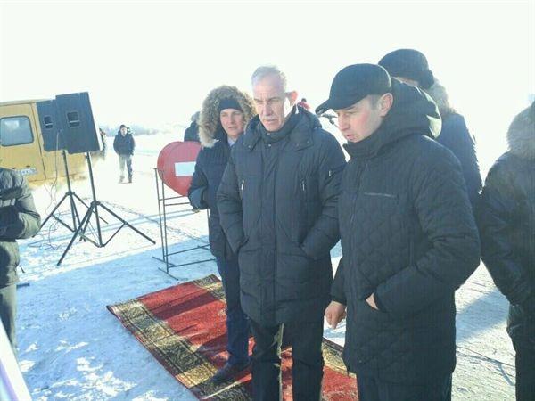 31 января ульяновский губернатор Сергей Морозов принял участие в открытии дороги между селами Шатрашаны Сурского района Ульяновской области и селом Татарские Шатрашаны республики Татарстан.