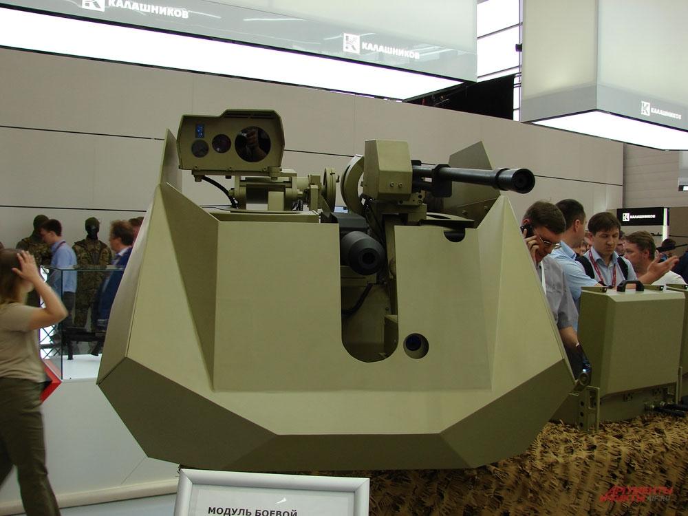 Боевой модуль «Корнет».