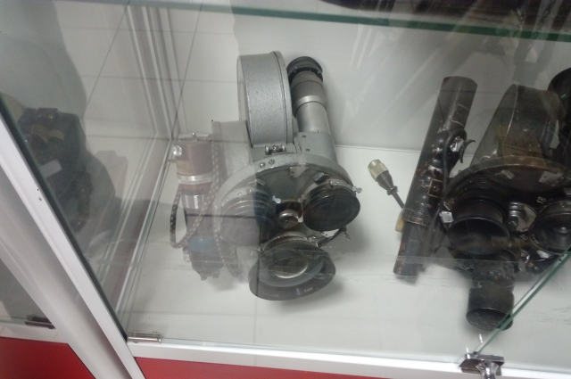 Первая камера красноярского телевидения.