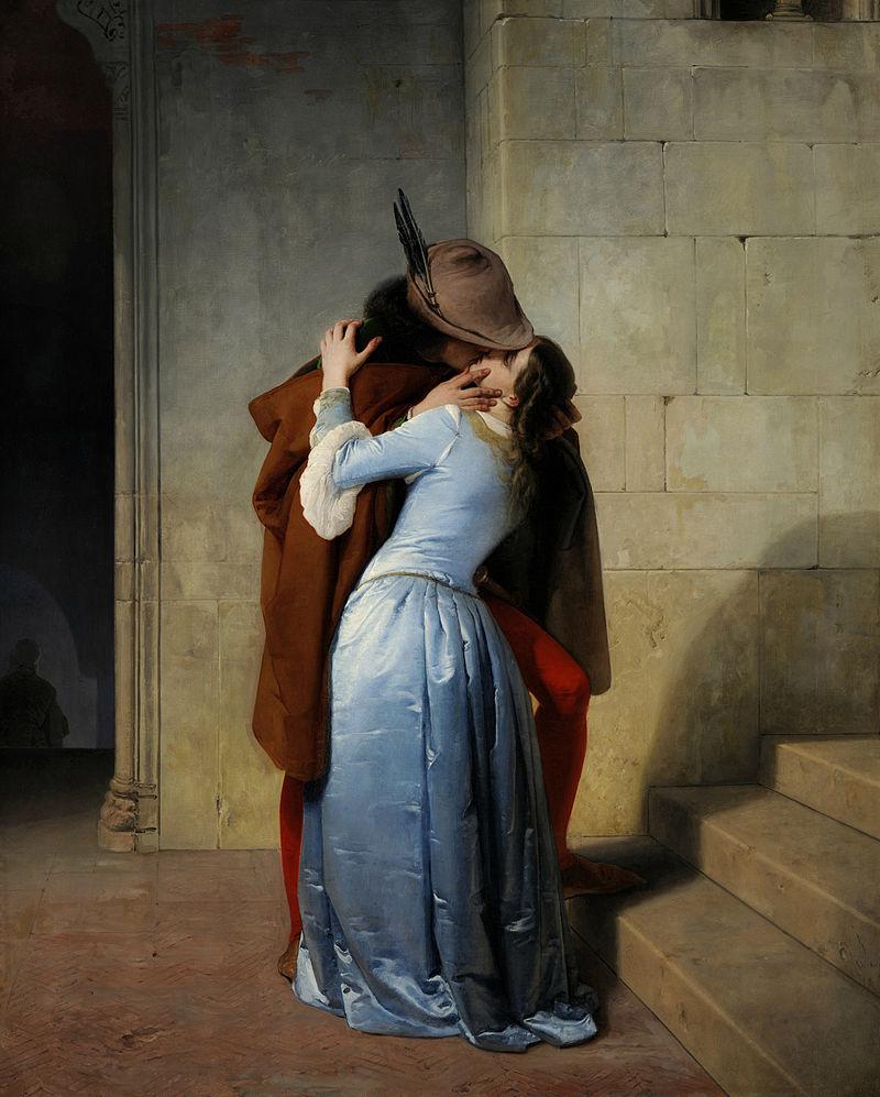Франческо Айец. Поцелуй.