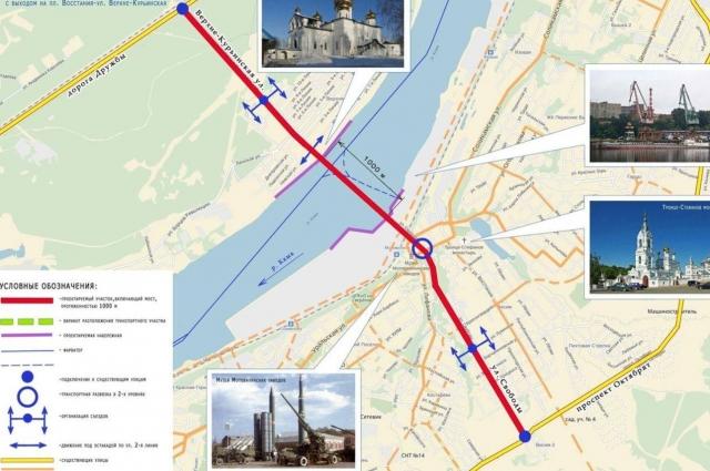 Игорь Луговой уверен, что третий мост следует строить с выходом в Мотовилихе.