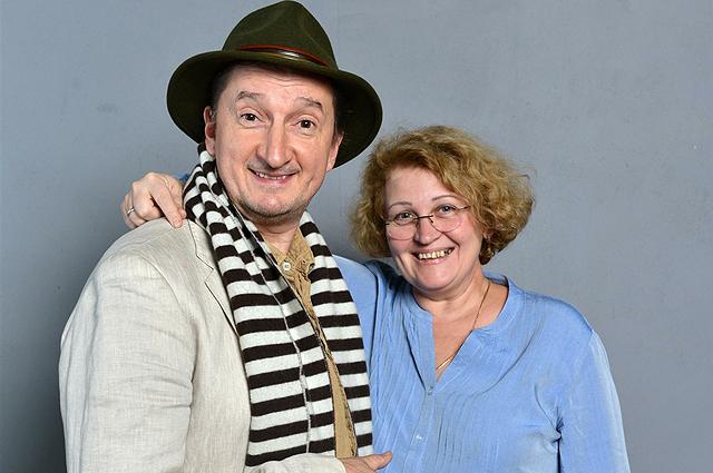 Александр Лыков с женой Аллой