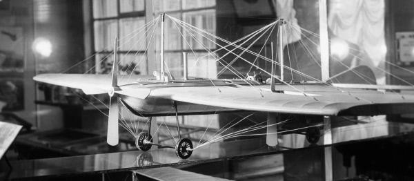 Модель самолета Александра Можайского