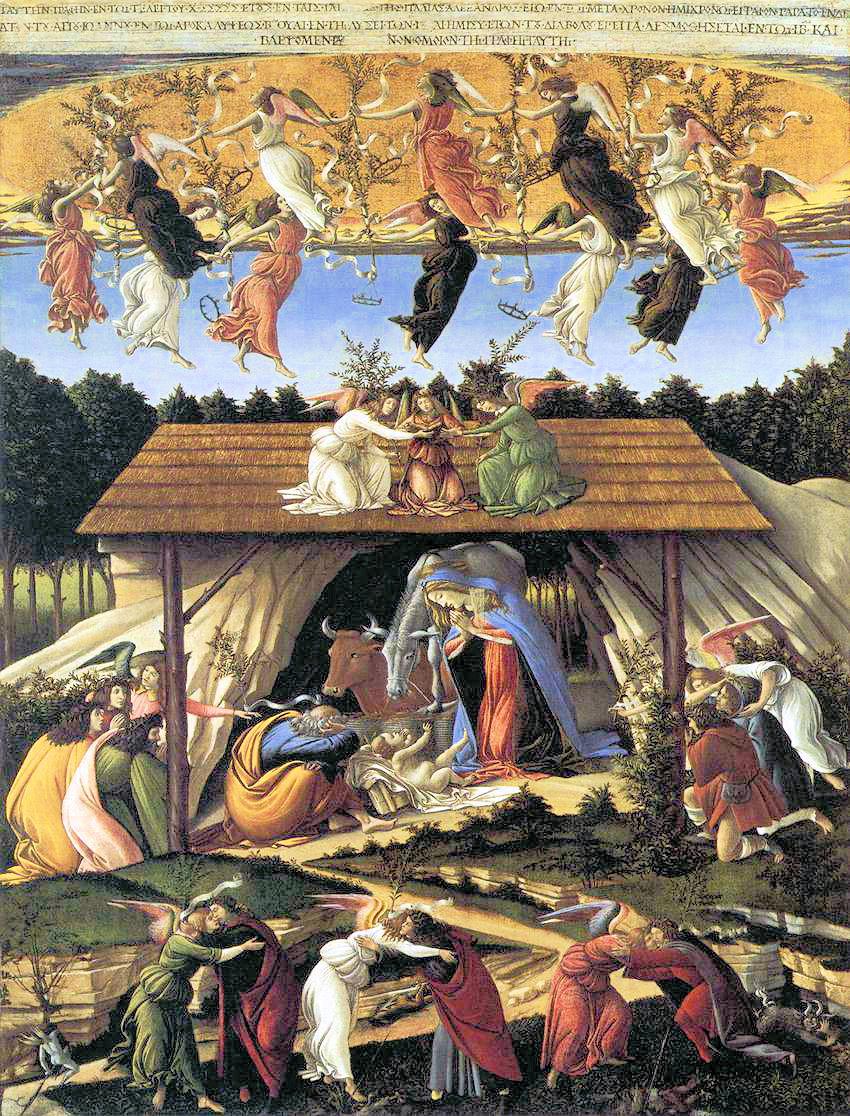 «Мистическое Рождество» Сандро Боттичелли.