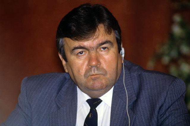 Президент Молдавии Мирча Снегур. 1992 год.