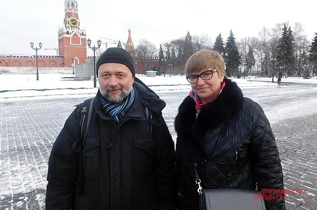 Ася Энговатова и Владимир Коваль