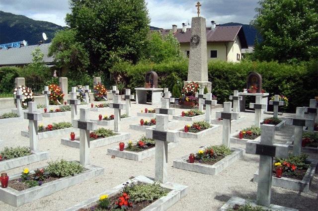 Кладбище казаков в Лиенце